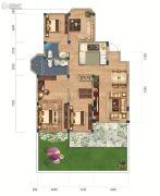 联投国际城4室2厅2卫170平方米户型图
