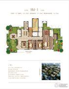 荣邦城3室2厅3卫241平方米户型图