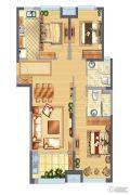 中骏柏景湾3室2厅2卫107平方米户型图