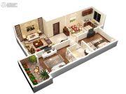 同美生活区2室2厅1卫0平方米户型图