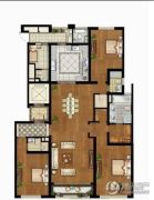 泰宝公爵府4室2厅4卫255平方米户型图