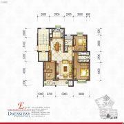 丽汤・首山梦之湾3室2厅2卫119平方米户型图