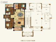 壹品湾4室2厅3卫0平方米户型图