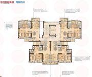 碧桂园华府(龙江)104--110平方米户型图