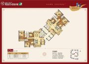奥园合创新城4室2厅3卫158--166平方米户型图