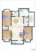 世纪嘉园3室2厅2卫0平方米户型图
