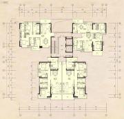 榕江四季城2室2厅1卫55--129平方米户型图