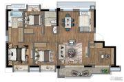 新里波洛克公馆4室2厅2卫0平方米户型图