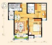 碧桂园・滨海城2室2厅1卫91平方米户型图