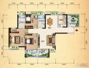 清江・月亮湾4室2厅2卫136平方米户型图
