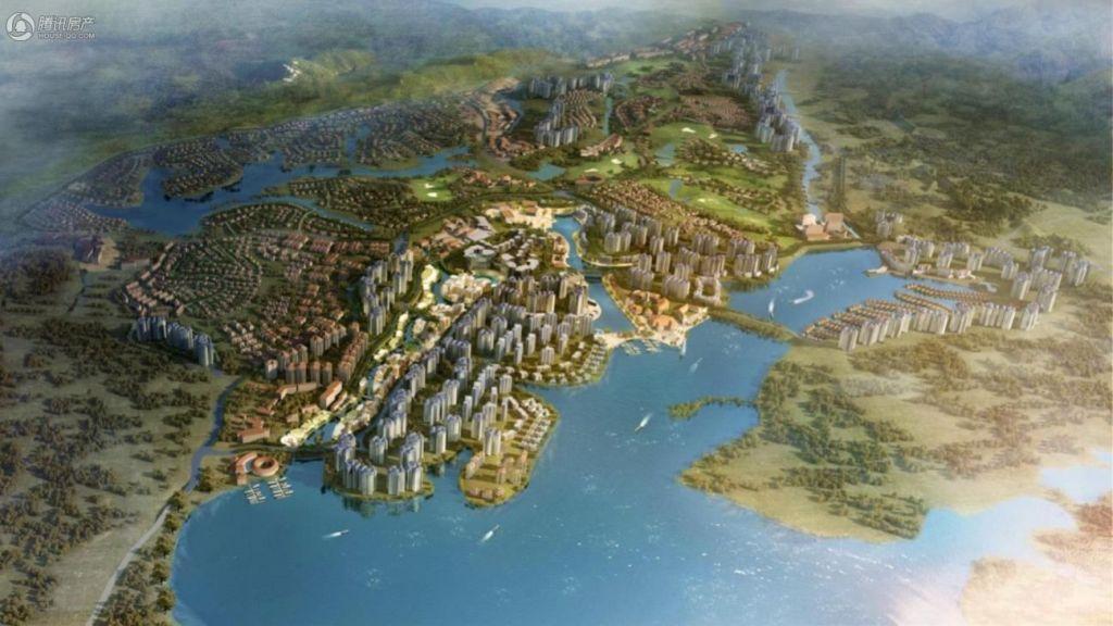 中国美林湖(爱琴海)-规划图