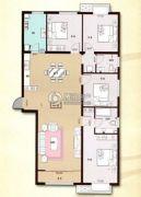 印象草原4室2厅2卫170平方米户型图