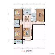 祥云岸芷汀兰3室2厅2卫139平方米户型图