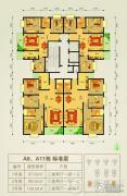 贵阳理想城3室2厅2卫0平方米户型图