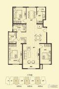 花雨汀3室2厅2卫136平方米户型图