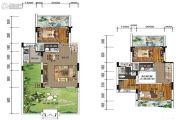 南方格林雅墅3室2厅3卫113平方米户型图