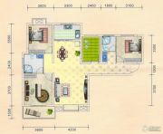 金色港湾3室2厅2卫120平方米户型图