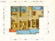中铁・水岸青城4室4厅4卫115平方米户型图