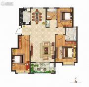 立成・桃源艺境3室2厅2卫121平方米户型图