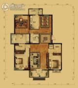泰和地中海3室2厅2卫188平方米户型图