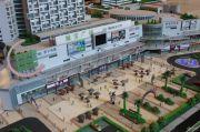 绿宝广场步行街沙盘图