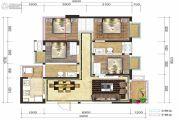融创凯旋东岸4室2厅1卫102平方米户型图