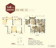 锦泰尊品4室2厅2卫106平方米户型图