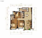 佳兆业悦府3室2厅2卫112平方米户型图