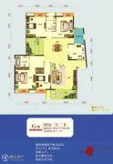 怡景江南4室2厅2卫182平方米户型图