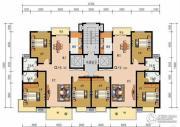 申鑫名城3室2厅2卫129平方米户型图