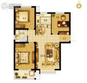 枣强・新天地3室2厅1卫110平方米户型图
