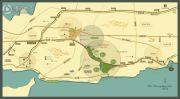 亿达蓝湾镇交通图