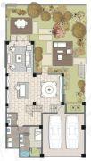 麓湖沉香谷2室2厅2卫0平方米户型图