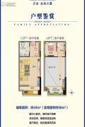 正金金泉大厦2室1厅1卫49平方米户型图
