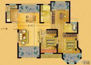 中南世纪城3室2厅2卫119平方米户型图