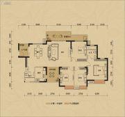 鸿润・叠韵4室0厅0卫165平方米户型图