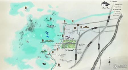 白洋淀孔雀城