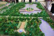 龙城购物公园沙盘图