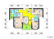 恒大御景半岛3室2厅2卫123平方米户型图