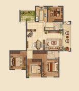 信拓东港国际4室2厅2卫177--181平方米户型图