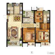 保利中央公园3室1厅2卫125平方米户型图