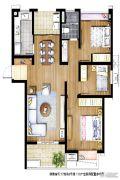信义嘉庭2室1厅1卫0平方米户型图