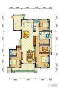 佳源・英伦都市4室2厅3卫193平方米户型图