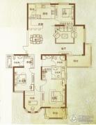 万泰麓溪公馆4室2厅3卫211平方米户型图