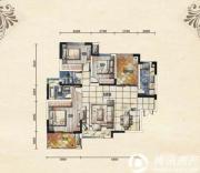 五矿龙湾别墅3室2厅2卫117平方米户型图
