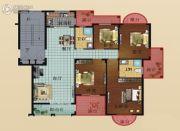 中博富贵世家4室2厅2卫118平方米户型图