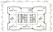 旺南世贸中心7室1厅1卫168平方米户型图