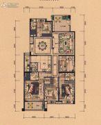 裕通花园5室2厅4卫218--230平方米户型图