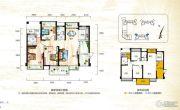 正茂顶秀港湾3室2厅2卫116平方米户型图
