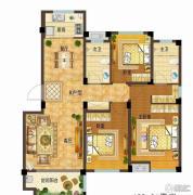 依云小镇3室2厅2卫123平方米户型图